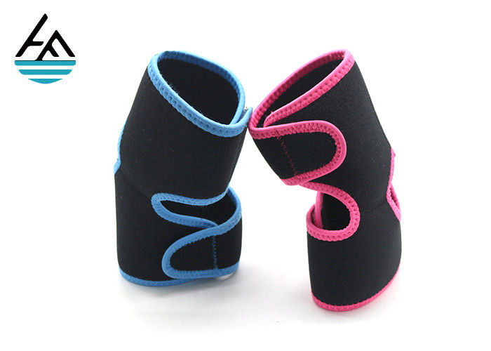 Neoprene Fitness Powerlifting Elbow Support  For Lifting Four Needles Six Lines Durable