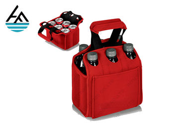 Niestandardowy 6-pak Cooler Tote Durable Insulated Six Pack Carrier With Handle